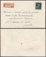 """Belgique - Lettre Recommandé COB 724T- Agence """"Schaerbeek N°22 """" (DD) DC2395 - Marcophilie"""
