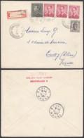 """Belgique - Lettre Recommandé - Agence """"Schaerbeek N°26 """" (DD) DC2396 - Marcophilie"""