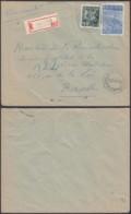 """Belgique - Lettre Recommandé COB 763+771- Agence """"St Gilles N°22 """" (DD) DC2400 - Marcophilie"""