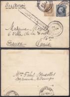 Belgique - Lettre 11/04/1925 Par Avion - De Bruxelles Vers Paris (DD) DC2379 - Marcophilie