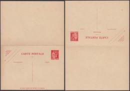 France 1935 - EP Type Paix De Laurens 90C Avec Réponse Payée E3a Sans Date Cote 175€ (DD) DC2403 - Postal Stamped Stationery