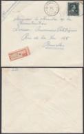 """Belgique - Lettre Recommandé COB 724T - Agence """" Ixelles N°19 (DD) DC2409 - Marcophilie"""