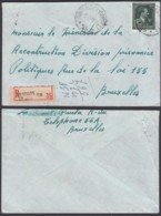 """Belgique - Lettre Recommandé COB 724T - Agence """" Bruxelles N°56 (DD) DC2410 - Marcophilie"""