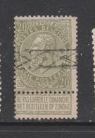COB 59 Oblitération Roulette - 1893-1900 Fine Barbe
