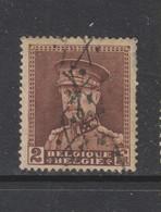 COB 321 Oblitération Roulette - 1931-1934 Képi