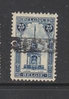 COB 164 Oblitération Roulette - Belgique