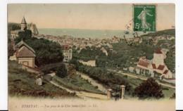 Etretat Seine Maritime, Vue Prise De La Côte St Clair, Voyagée 1912 - Etretat