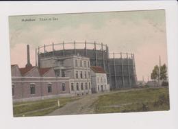 Hoboken - Mooie Kleurkaart Titan Et Gaz 1912 Gelopen Uitg.vertongen - Antwerpen