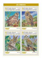 Central Africa 2018 Fauna Owls S201902 - Central African Republic