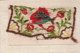 Brodée : 1ér AVRIL - Mot Doux - Embroidered