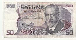 Autriche 50 Schilling 1986 - Austria