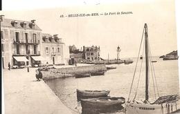 *LE PORT DE SAUZON - Belle Ile En Mer