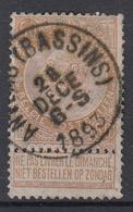 BELGIË - OPB - 1893/00 - Nr 62 (ANVERS (BASSINS)) - 1893-1900 Fine Barbe