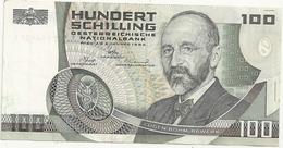 Autriche 100 Schilling 1984 - Autriche