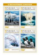 Central Africa 2018  Fauna  Global Warming, Polar Bear , Penguins  ,birds   S201902 - Central African Republic