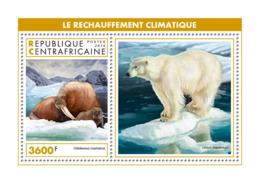 Central Africa 2018  Fauna  Global Warming, Polar Bear , Walrus S201902 - Central African Republic