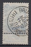 BELGIË - OPB - 1893/00 - Nr 60 (BRUX. EFFETS DE COMMERCE) - 1893-1900 Fine Barbe