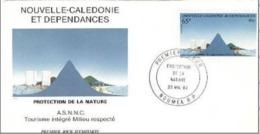 FDC Wallis Et Futuna Tourisme Intégré Milieu Respecté 1984.. - FDC