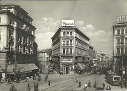 Padova (Veneto) Piazza Garibaldi, Albergo Regina, Regina Hotel, Filobus E Tram - Padova (Padua)
