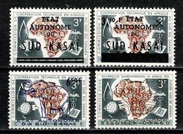 Sud Kasaï 1961 - 14/15**, 16/17** MNH - South-Kasaï