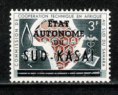 Sud Kasaï 1961 - 14** MNH - South-Kasaï