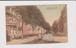 Hoboken -louizalei Prachtige Kleurkaart Gelopen 1931 Marco Marcovici Uitg.bazar Verhaegen - Antwerpen