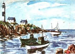 CPM - ILLUSTRATION J.SUAIN - Thème BRETAGNE - Bretagne