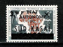 Sud Kasaï 1961 - 15* (2 Scans) MH - Sud-Kasaï