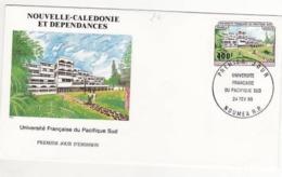 Université Française Du Pacifique  Sud .FDC Nouvelle Calédonie 1984 - FDC