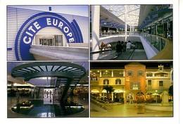 Coquelle Calais Cité Europe 4 Vues (renseignements Au Dos - Frankreich