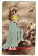CPA - Une Jolie Jeune Fille Et Un Angelot En 1905 - Illust. Reutlinger - Edit. S. I. P. N°1347 - Scans Recto-Verso - Femmes