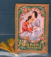 Calendario 1934 Musica Puccini - Formato Piccolo : 1921-40