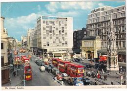 London: LEYLAND COMET LORRY, AUSTIN MINI, OMNIVAN, FX, HILLMAN MINX, SCAMMELL SCARAB, DOUBLE DECK BUSES - The Strand - Turismo