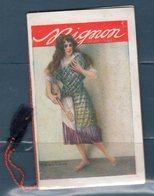 Calendario 1922 Mignon - Calendari