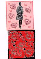 MODE FRANCAISE : 3 Blocs De La Saint-Valentin Neufs Avec Coeurs. - Art