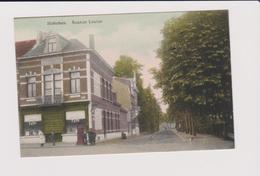 Hoboken - Prachtige Zeldzame Kleurkaart Louizalei Met Apotheek En Drogist Fayn Ongelopen Veel Animatie Uitg.vertongen - Antwerpen