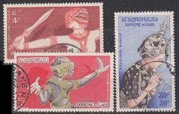 LAOS [1955] MiNr 0043 Ex ( O/used ) [01] - Laos