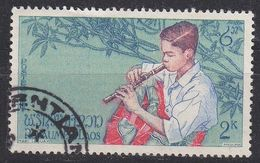 LAOS [1957] MiNr 0060 ( O/used ) - Laos