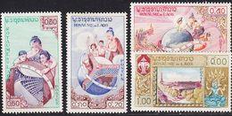 LAOS [1958] MiNr 0085-88 ( */mh ) UNO - Laos