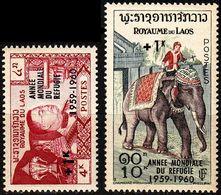 LAOS [1960] MiNr 0103-04 ( **/mnh ) - Laos