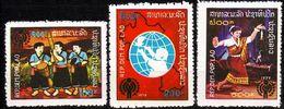 LAOS [1979] MiNr 0486-88 ( OG/no Gum ) UNO - Laos