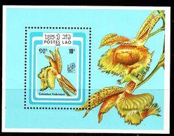 LAOS [1985] MiNr 0845 Block 107 ( **/mnh ) Blumen - Laos