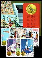 LAOS [1984] MiNr 0710-16 ( **/mnh ) Olympiade - Laos