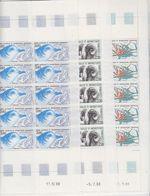 TAAF 1989 Animals 3v Complete Sheetlets With Full Margins ** Mnh (TA215) - Ongebruikt