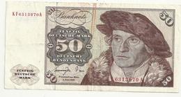 Allemagne 50 Mark 1977 - [ 7] 1949-… : RFA - Rep. Fed. Tedesca