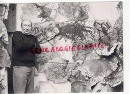 19- LUBERSAC- PIERRE BERNOTTE PEINTRE NE EN 1929 A LUBERSAC-MORT A LIMOGES EN 1996-RARE PHOTO ORIGINALE - Profesiones