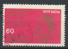 °°° INDIA - Y&T N° 968A - 1988 °°° - Indien
