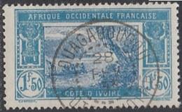 Côte D'Ivoire 1913-1944 - Ouagadougou Sur N° 82 (YT) N° 84 (AM). Oblitération De 1933. - Côte-d'Ivoire (1892-1944)
