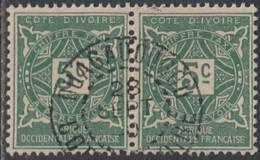 Côte D'Ivoire 1913-1944 - Ouagadougou Sur Timbre-taxe N° 9 (YT) N° 9 (AM). Oblitération. - Côte-d'Ivoire (1892-1944)