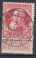 BELGIË - OPB - 1905 - Nr 74 (LANKLAER) - 1905 Grosse Barbe